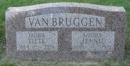 VANBRUGGEN, JENNIE - Sioux County, Iowa | JENNIE VANBRUGGEN