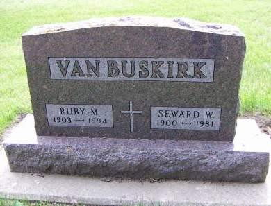 VANBUSKIRK, SEWARD W. - Sioux County, Iowa | SEWARD W. VANBUSKIRK
