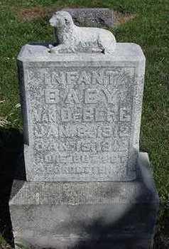 VANDEBERG, INFANT - Sioux County, Iowa | INFANT VANDEBERG