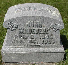 VANDEBERG, JOHN - Sioux County, Iowa   JOHN VANDEBERG