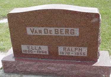 VANDEBERG, ELLA - Sioux County, Iowa | ELLA VANDEBERG