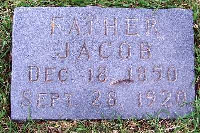 VANDEGRIEND, JACOB - Sioux County, Iowa   JACOB VANDEGRIEND