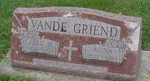 VANDEGRIEND, ANNA - Sioux County, Iowa | ANNA VANDEGRIEND