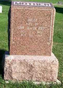 VANDEKIEFT, HILDA (MRS. JOHN) - Sioux County, Iowa | HILDA (MRS. JOHN) VANDEKIEFT