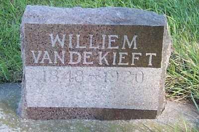 VANDEKIEFT, WILLIEM - Sioux County, Iowa   WILLIEM VANDEKIEFT