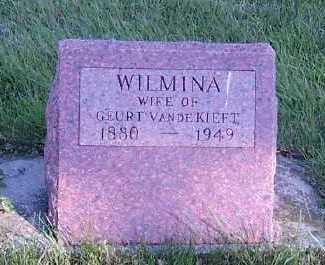 VANDEKIEFT, WILMINA (MRS. GEURT) - Sioux County, Iowa | WILMINA (MRS. GEURT) VANDEKIEFT