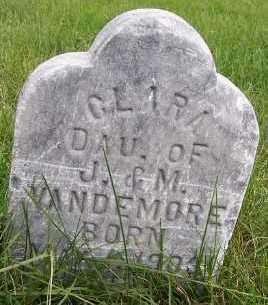 VANDEMORE, CLARA (DAU OF J.&M) - Sioux County, Iowa | CLARA (DAU OF J.&M) VANDEMORE