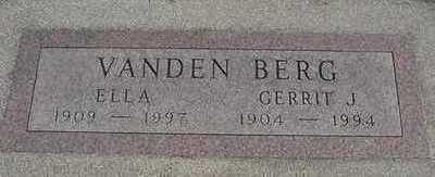 VANDENBERG, GERRIT J. - Sioux County, Iowa | GERRIT J. VANDENBERG