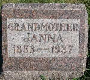 VANDENBERG, JANNA - Sioux County, Iowa | JANNA VANDENBERG