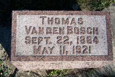 VANDENBOSCH, THOMAS - Sioux County, Iowa | THOMAS VANDENBOSCH
