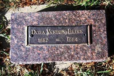 VANDENBRINK, DORA - Sioux County, Iowa   DORA VANDENBRINK