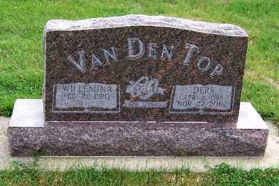 VANDENTOP, DERK (1918-2002) - Sioux County, Iowa   DERK (1918-2002) VANDENTOP