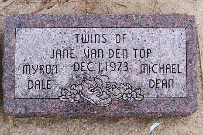 VANDENTOP, MICHAEL DEAN - Sioux County, Iowa | MICHAEL DEAN VANDENTOP