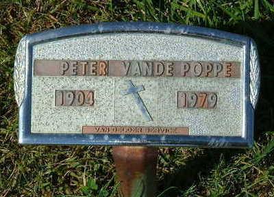 VANDEPOPPE, PETER - Sioux County, Iowa | PETER VANDEPOPPE