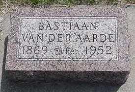 VANDERAARDE, BASTIAAN - Sioux County, Iowa | BASTIAAN VANDERAARDE