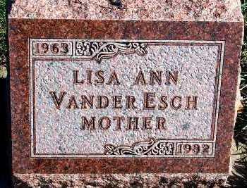 VANDERESCH, LISA ANN - Sioux County, Iowa | LISA ANN VANDERESCH