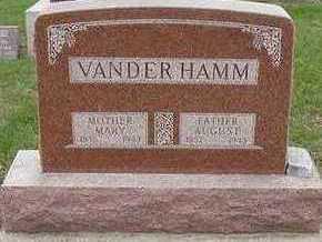 VANDERHAMM, MARY (MRS. AUGUST) - Sioux County, Iowa | MARY (MRS. AUGUST) VANDERHAMM