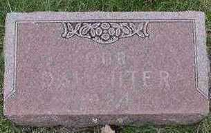 VANDERHAMM, DAU. 1924 - Sioux County, Iowa | DAU. 1924 VANDERHAMM
