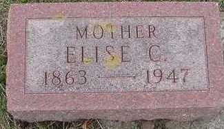 VANDERHAMM, ELISE C. - Sioux County, Iowa | ELISE C. VANDERHAMM