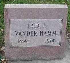 VANDERHAMM, FRED J. - Sioux County, Iowa | FRED J. VANDERHAMM