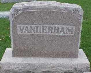 VANDERHAMM, HEADSTONE - Sioux County, Iowa | HEADSTONE VANDERHAMM