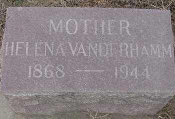 VANDERHAMM, HELENA (MOTHER) - Sioux County, Iowa | HELENA (MOTHER) VANDERHAMM