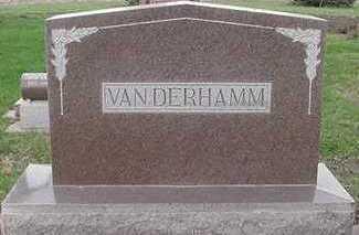 VANDERHAMM, HEADSTONE6 - Sioux County, Iowa | HEADSTONE6 VANDERHAMM