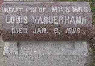 VANDERHAMM, INFANT SON OF LOUIS - Sioux County, Iowa | INFANT SON OF LOUIS VANDERHAMM