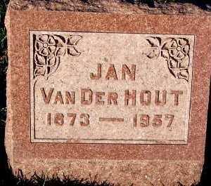 VANDERHOUT, JAN - Sioux County, Iowa | JAN VANDERHOUT