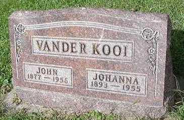 VANDERKOOI, JOHN - Sioux County, Iowa | JOHN VANDERKOOI