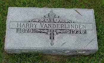 VANDERLINDEN, HARRY - Sioux County, Iowa | HARRY VANDERLINDEN