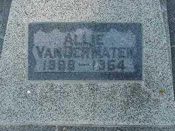 VANDERMATEN, ALLIE - Sioux County, Iowa | ALLIE VANDERMATEN