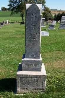 VANDERMEER, MRS. SAM - Sioux County, Iowa | MRS. SAM VANDERMEER
