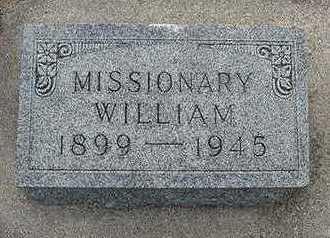 VANDERMEER, WILLIAM - Sioux County, Iowa | WILLIAM VANDERMEER
