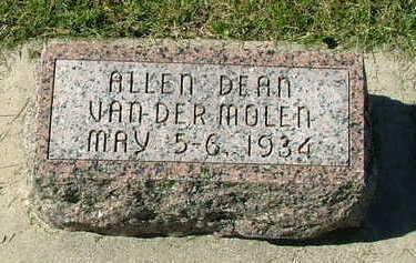 VANDERMOLEN, ALLEN DEAN - Sioux County, Iowa | ALLEN DEAN VANDERMOLEN
