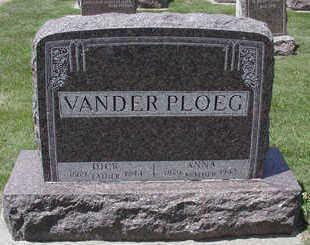 VANDERPLOEG, DICK - Sioux County, Iowa | DICK VANDERPLOEG