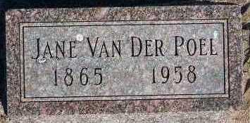 VANDERPOEL, JANE - Sioux County, Iowa | JANE VANDERPOEL