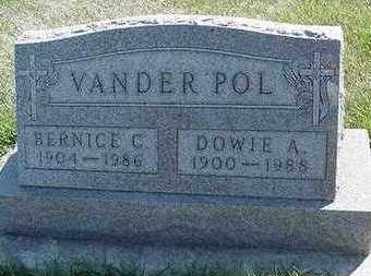 VANDERPOL, DOWIE A. - Sioux County, Iowa | DOWIE A. VANDERPOL