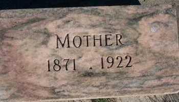VANDERSANDEN, MOTHER - Sioux County, Iowa | MOTHER VANDERSANDEN