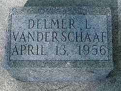 VANDER SCHAAF, DELMER L. - Sioux County, Iowa | DELMER L. VANDER SCHAAF