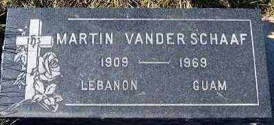 VANDER SCHAAF, MARTIN - Sioux County, Iowa | MARTIN VANDER SCHAAF