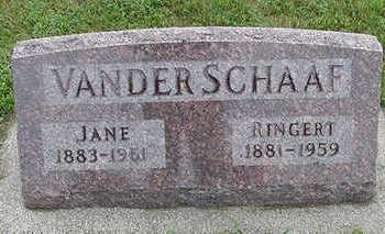 VANDER SCHAAF, RINGERT - Sioux County, Iowa | RINGERT VANDER SCHAAF