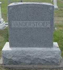 VANDERSTOEP, HEADSTONE - Sioux County, Iowa   HEADSTONE VANDERSTOEP