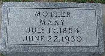 VANDERSTOEP, MARY - Sioux County, Iowa | MARY VANDERSTOEP