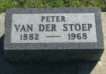 VANDERSTOEP, PETER - Sioux County, Iowa | PETER VANDERSTOEP