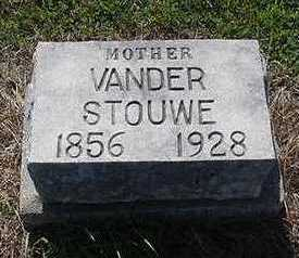 VANDERSTOUWE, MOTHER - Sioux County, Iowa   MOTHER VANDERSTOUWE