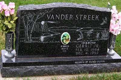 VANDERSTREEK, GERRIT JR. - Sioux County, Iowa | GERRIT JR. VANDERSTREEK