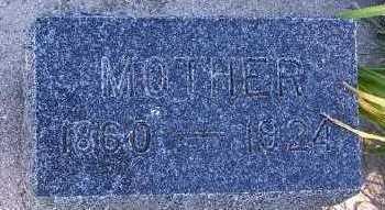VANDERVELDE, MOTHER - Sioux County, Iowa | MOTHER VANDERVELDE