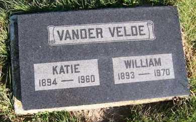 VANDERVELDE, KATIE - Sioux County, Iowa   KATIE VANDERVELDE