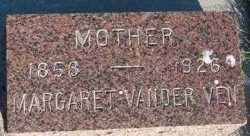 VANDERVEN, MARGARET - Sioux County, Iowa   MARGARET VANDERVEN